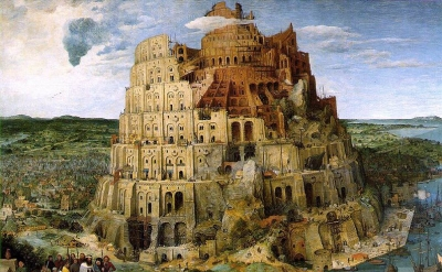 Pieter Bruegel the Elder, The Tower of Babel, oil on panel, 1563, Kunsthistorisc