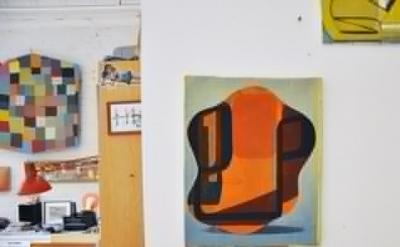 Tom Burckhardt studio view (photo: Paul Behnke)