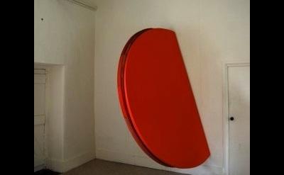 (detail) Simon Callery, Orange Painting, Inland Sealand (courtesy of the artist)