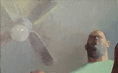 """David Campbell, """"……… ,"""" 9 × 11 1/4 inches, 2012 (courtesy of the artist)"""