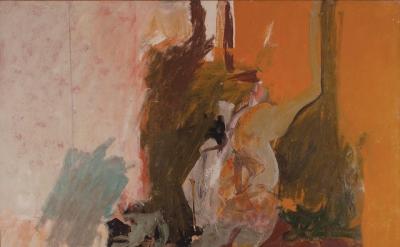 Nicolas Carone, Ear of Earth, c. 1960, oil on canvas, 48 x 60 inches (© Estate o
