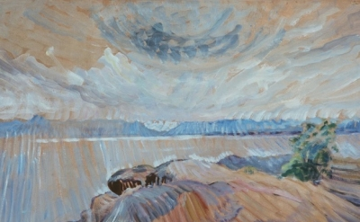 Emily Carr, Sea and Sky, c. 1936 (photograph: Art Gallery of Greater Victoria)