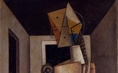 Carlo Carrà, Penelope, 1917, oil on canvas, 94.5 x 54.5 cm (Private collection)
