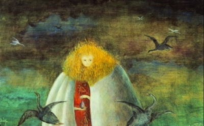 (detail) Leonora Carrington. The Giantess (Collection Miguel S. Escobedo. © Esta