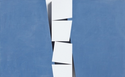 John Carter, Identical Shapes: Vertical Cascade, 2013 (courtesy of the artist an