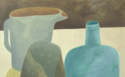 (detail) Ginny Casey, Peeping Jug, oil on canvas, 30 x 30 inches, 2015 (courtesy of the artist)