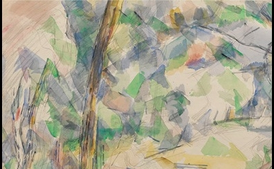 Paul Cézanne, Forest Path, 1904-6 (courtesy of the Ashmolean Museum, Oxford)