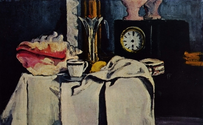 Paul Cézanne, The Black Clock, 1870 (Private Collection)