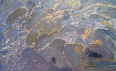(detail) Bernard Chaet, Breaking Out, 2004-06 oil on canvas, 34 x 36 inches (cou