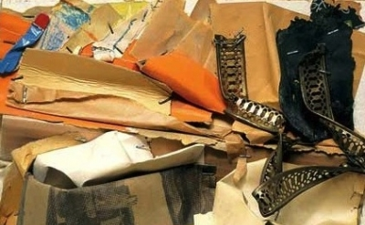 (detail) John Chamberlain, Untitled, ca. 1961, © 2012 John Chamberlain/Artists R