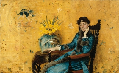 William Merritt Chase, Portrait of Dora Wheeler, 1882–83 (The Cleveland Museum o