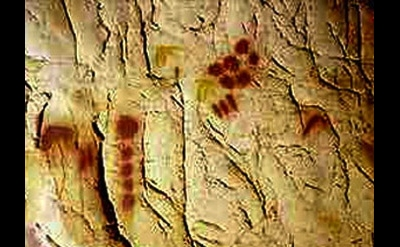 Chauvet Cave, Vallon-Pont-d'Arc, France (photo: Dr. Jean Clottes)