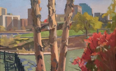 Christopher Chippendale, View of Boston from North Point Park, 2014 (courtesy of
