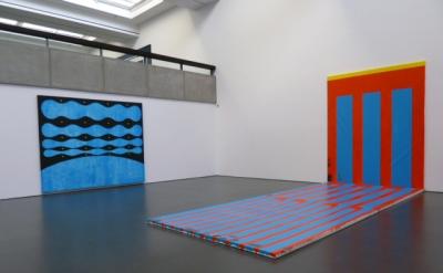 Installation view: Chris Martin: Staring at the Sun at Kunsthalle Dusseldorf (ph