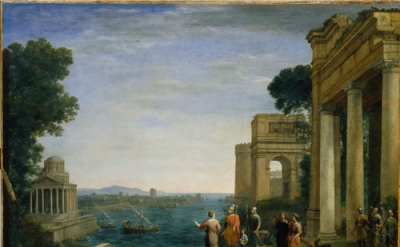 Claude Lorrain, Dido and Aeneas at Carthage, 1676, Oil on canvas, 120 x 149.2 cm