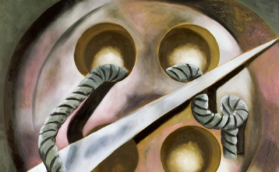 Francesco Clemente, Initiation, 2006, oil on canvas, 78 × 68 inches (courtesy of