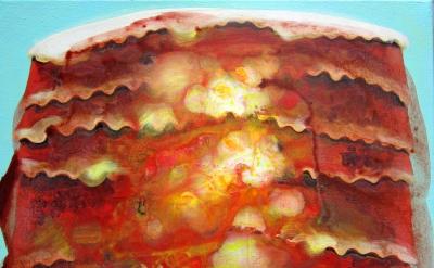 Jennifer Coates, Lasagna, 14 x 18 inches, 2015 (courtesy of the artist)