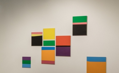 Installation view: Ralph Coburn, Random Sequence at the Arts Club of Chicago