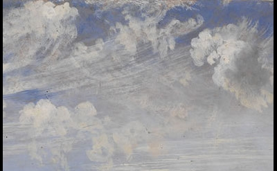 (detail) John Constable, Study of Cirrus Clouds, c.1821
