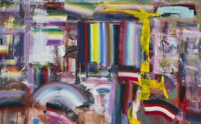 Diana Copperwhite, Predilection for fiction, 2016, 170 x 230 cm (courtesy of 532 Gallery Thomas Jaeckel)