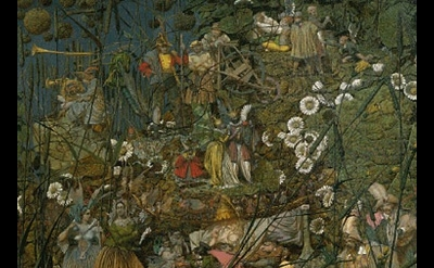(detail) Richard Dadd, The Fairy Feller's Master-Stroke 1855-1864 © Tate, Oil on