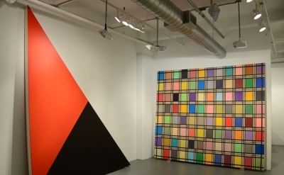 Mark Dagley: Structural Solutions, Installation View at Minus Space (courtesy of
