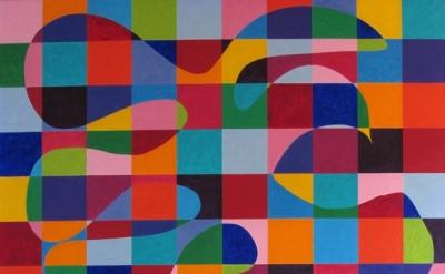 (detail) Dana Gordon, untitled, oil on linen or canvas, 72x60