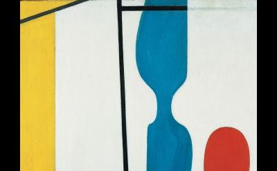 (detail) Willem de Kooning, Father, Mother, Sister, Brother, c. 1937, oil on boa