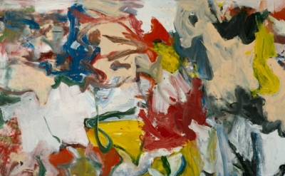"Willem de Kooning, Untitled XI, 1975, Oil on canvas, 6' 5"" x 7' 4"", collection o"