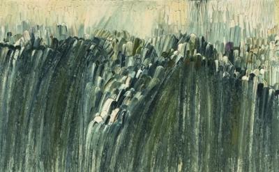 (detail) Jay DeFeo, Origin, 1956, © 2012 The Jay DeFeo Trust / Artists Rights So