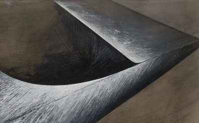 (detail) Jay DeFeo, Reflections of Africa No. 7, 1987 (courtesy of Mitchell-Inne