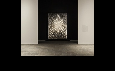 Installation view of Jay DeFeo: A Retrospective (Whitney Museum of American Art,