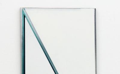 Installation view of painting by Svenja Deininger at Kunsthalle Krems