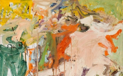 Willem de Kooning, Two Figures in a Landscape 1967, oil on canvas, 70 x 80 inche