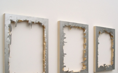(detail) Matthew Deleget, They Don't Love You Like I Love You, 2009, Silver mono