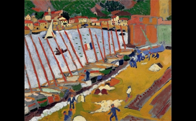 André Derain, Le faubourg de Collioure, 1905 (© Philippe Migeat - Centre Pompido
