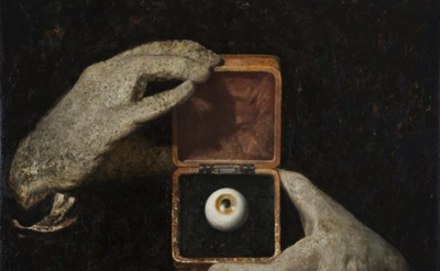(detail) Vincent Desiderio, Hitchcock's Hands, 2012, oil and mixed media on canv