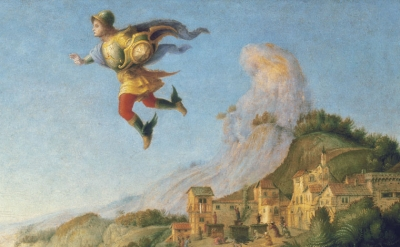 (detail) Piero di Cosimo, Liberation of Andromeda, c. 1510–1513, oil on panel (G