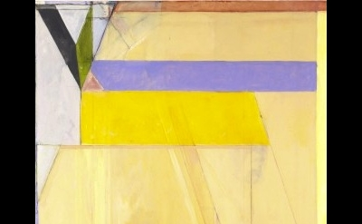 (detail) Richard Diebenkorn, Ocean Park #38, 1971. Oil on canvas, 100 1/8 x 81 i