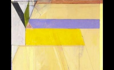 (detail) Richard Diebenkorn, Ocean Park #38, 1971. Oil on canvas, 100 1/8 x 81 i