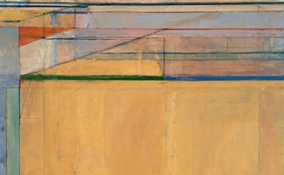 (detail) Ocean Park No. 67, 1973, Richard Diebenkorn, The Doris and Donald Fishe