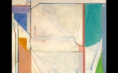 (detail) Richard Diebenkorn, Ocean Park #43, 1971, oil on canvas (courtesy of th