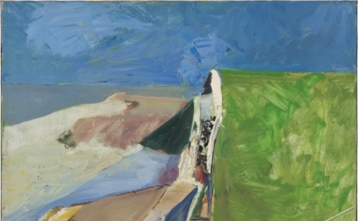 Richard Diebenkorn, Seawall, 1957 (collection of the Fine Arts Museums of San Fr