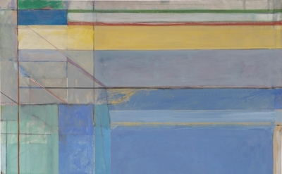(detail) Richard Diebenkorn, Ocean Park #79, 1975 (Philadelphia Museum of Art, purchased with a grant from the National Endowment for the Arts and with funds contributed by private donors, 1977, 1977-28-1. © 2016 The Richard Diebenkorn Foundation)