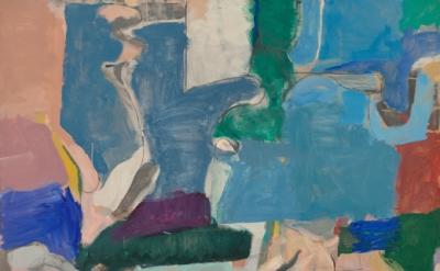 (detail) Richard Diebenkorn, Berkeley #5,1953 ( Private Collection ©The Richard