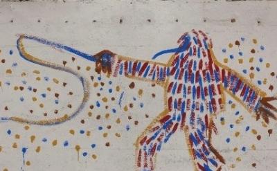 Mural by Otto Dix, Hemmenhofen (photo: Spiegel Online)