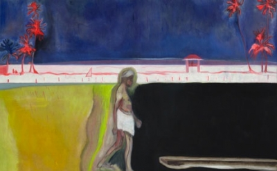 (detail) Peter Doig, Untitled, 2011 (courtesy of the artist and Michael Werner G