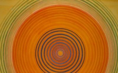 Don Cooper, Turquoise Healing Bindu, 2010, detail