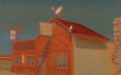 Greg Drasler Tavern, 2014, oil on linen, 11 x 14 inches (courtesy of Betty Cunin