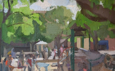 John Dubrow, Playground Sandbox, 